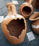 L'argilla si forma (2) Fotografie Stock Libere da Diritti