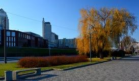 L'argine della città Immagine Stock Libera da Diritti