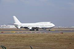 """L'aria Boeing 747 di Wamos del †dell'aeroporto internazionale di Francoforte """"decolla Immagini Stock"""