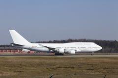 """L'aria Boeing 747 di Wamos del †dell'aeroporto internazionale di Francoforte """"decolla Immagine Stock"""