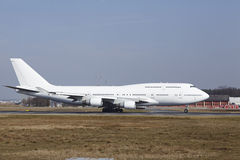 """L'aria Boeing 747 di Wamos del †dell'aeroporto internazionale di Francoforte """"decolla Fotografia Stock"""