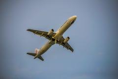 L'aria del drago decolla Fotografie Stock Libere da Diritti
