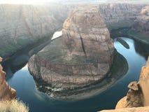 L'Arizona en fer à cheval Images libres de droits