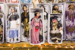 L'ARIZONA, Etats-Unis - mai 2013, poupées mexicaines traditionnelles Photo stock
