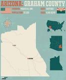L'Arizona : Graham County Image libre de droits