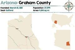 L'Arizona : Graham County Photos stock