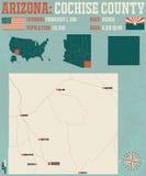 L'Arizona: La contea di Cochise Fotografia Stock Libera da Diritti