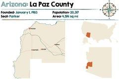 L'Arizona : La Paz County Photographie stock