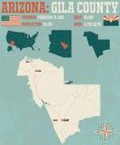 L'Arizona : Le comté d'Apache illustration de vecteur