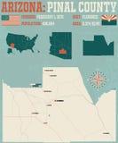 L'Arizona : Le comté de Pinal Photos libres de droits