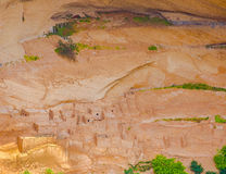 L'Arizona, ruines d'Anasazi, monument national de Canyon de Chelly Photographie stock libre de droits