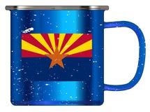 L'Arizona Tin Cup Image stock