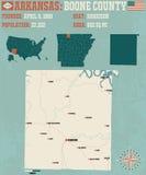 L'Arkansas : Boone County Image libre de droits