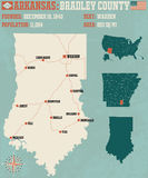 L'Arkansas : Bradley County Images libres de droits