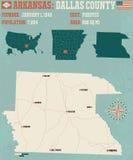 L'Arkansas : Le comté de Dallas Photographie stock libre de droits
