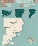 L'Arkansas : Le comté de Phillips Images libres de droits