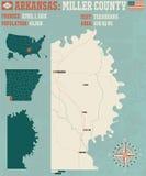 L'Arkansas : Miller County Photos libres de droits