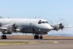 L'Armée de l'Air d'Australien royal RAAF Lockheed AP-3C Orion Maritime Patrol et anti avions submersibles de guerre photos libres de droits