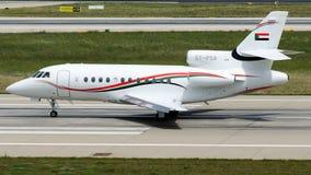 L'Armée de l'Air de ST-PSA Soudan, faucon 900 de Dassault Photographie stock libre de droits