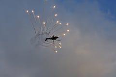 l'Armée de l'Air Apache de Royal Dutch Image stock