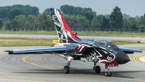 L'Armée de l'Air d'Italien de la tornade PA-2000 de Panavia Images libres de droits