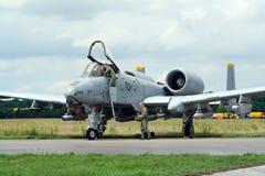 l'Armée de l'Air d'USA A-10 Images libres de droits