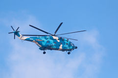 l'Armée de l'Air de la Chine de ¼ du helicopterï Z8 Images stock