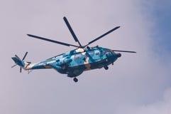 l'Armée de l'Air de la Chine de ¼ du helicopterï Z8 Image stock