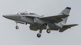 L'Armée de l'Air de polonais d'Aermacchi MB346 MT55225 Images libres de droits