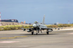 L'Armée de l'Air espagnole Eurofighter Images stock
