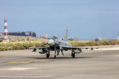 L'Armée de l'Air espagnole Eurofighter Photos stock