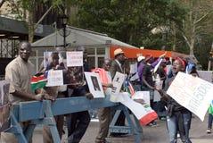 L'armée de l'Ouganda doit quitter le Soudan du sud Photo stock