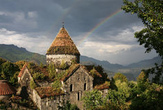 l'Arménie. Monastère Sanain Photographie stock
