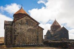 l'arménie Monastère Sevanavank jour Photo stock