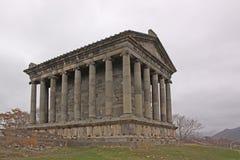 l'arménie Temple de Garni Images libres de droits