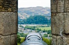 L'arme à feu du château Images stock