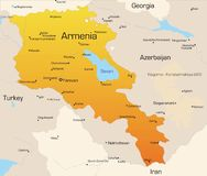 L'Armenia Fotografia Stock