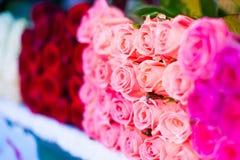 l'armenia Rose nel mercato Fotografie Stock