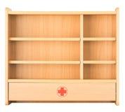 L'armoire à pharmacie pour gardent la drogue Photo stock