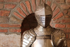 L'armure du chevalier Photo libre de droits