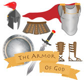 L'armure du guerrier Jesus Christ Holy Spirit de Dieu Photo stock