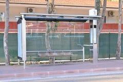 L'arrêt d'autobus Photo libre de droits