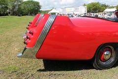 L'arrière détaille la voiture allemande rare Photos stock