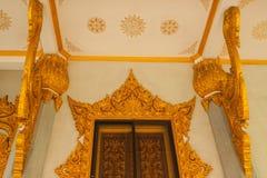 L'art d'entrée du temple images libres de droits