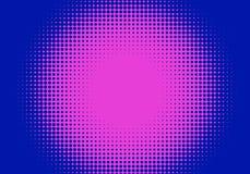 L'art de bruit a dénommé le rétro fond tramé avec les points comiques illustration libre de droits