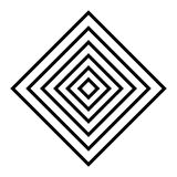 l'art de diamant raye le geometrics Photos stock