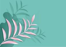 L'art de papier dans le vecteur d'abrégé sur le style 3d a coupé le fond Ligne conception de couverture de vague pour le papier p Photographie stock libre de droits