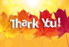 L'art de papier de vous remercient fond de lettrage Illustration de vecteur illustration stock