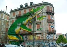 L'art de rue Photo libre de droits
