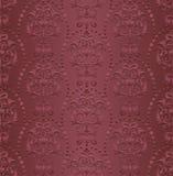 L'Art nouveau de damassé de papier peint de style de vintage ornemente le fond sans couture de couleur de texture d'éléments de c Image libre de droits